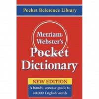 Merriam~webster's Pocket Dictionary