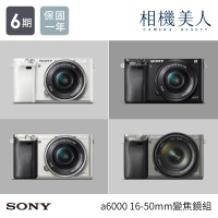 ~SONY~Sony ILCE~6000L a6000 16~50變焦鏡組  貨 送16G