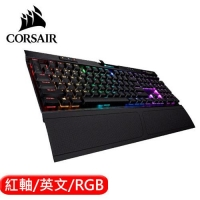 CORSAIR 海盜船 K70 RGB MK.2 Low Profile 電競鍵盤 紅軸