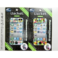 Disney系列 iJacket iphone4 彩繪貼【A-I4-009】機身貼 日本進口