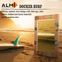 ALMI-DOCKER SURF- MIRROR 60x80 造型掛鏡