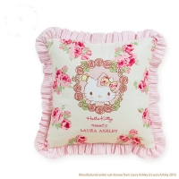Hello Kitty meets LAURA ASHLEY抱枕028738預購