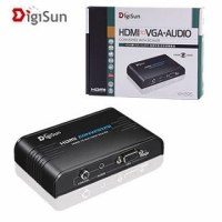 【DigiSun】HDMI轉VGA+AUDIO高解析影音訊號轉換器含Scaler功能-NOVA成功