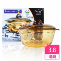 【法國 樂美雅 Luminarc】Trianon 3.8L 微晶透明鍋《3.8L》