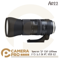 ◎相機專家◎ Tamron SP 150-600mm F5-6.3 Di VC USD G2 A022 公司貨