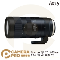 ◎相機專家◎ Tamron SP 70-200mm F2.8 Di VC USD G2 A025 公司貨