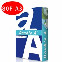 【Double A】80P A3 多功能紙(1箱5包)