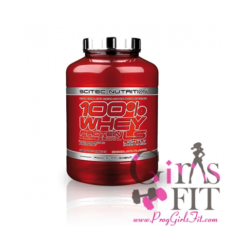 SCITEC NUTRITION 100% WHEY PROTEIN PROFESSIONAL LS紅標 職業低脂低熱量乳清  2350g(5.17磅)