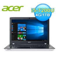acer 宏碁 E5-575G-596Q 15.6吋七代白色筆電