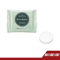 日本SHISEIDO資生堂 THE AMENITY ECO SOAP泡泡沐浴皂 10G 【RH shop】日本代購