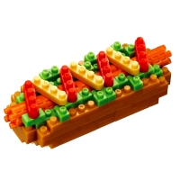 【Nanoblock 迷你積木】熱狗 HOT DOG(NBC-218)
