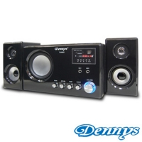 【Dennys】USB/FM/SD/MP3重低音2.1喇叭(T-690S)