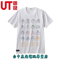 【UT UNIQLO X One Piece】☆ 海賊王 T-SHIRT 登場人物 ☆全新品【台中星光電玩】
