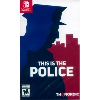 NS SWITCH 身為警察 (這是警察)  中英日文美版 This is the Police