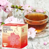 和風櫻花紅茶茶包10入 20g Sweet Sakura Tea(日本進口茶包)