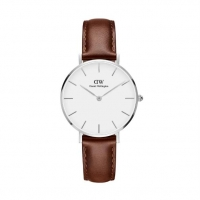 【最新】DW Daniel Wellington Classic DW00100187 32mm 手錶 銀框【迪特軍】