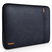 【美國代購】Tomtoc 360° 防摔保護 Laptop Sleeve for 12 Inch New MacBook with Retina-黑藍色