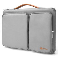 【美國代購】Tomtoc 360° 手提款防摔保護 Laptop Sleeve Case for MacBook/Surface Pro/NB/Tablet-淺灰色