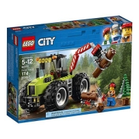 LEGO 樂高 City Forest Tractor 60181 Building Kit (174 Piece)