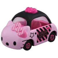 個人【asdfkitty】KITTY 多美夢幻小汽車 40週年版-TOMY Dream TOMICA TM49903日本正版