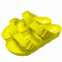 【Lotto】Lotto EVA 女鞋 萊姆黃 肯拖鞋 輕量 防水 台灣製 AIRWALK Birkenstock Arizona LT7AWS5624