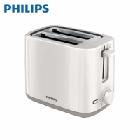 【Philips 飛利浦】Daily Collection 烤麵包機-白色 HD2595