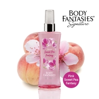 【Body fantasies 身體幻想】蜜桃戀人 Pink Sweet Pea Fantasy 94ml(蜜桃戀人)