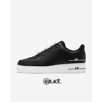 【NIKE】Air Force 1 07 LV8 Double Air 黑白 雙勾 串標 標籤 CJ1379-001(palace store)