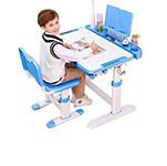 可升降兒童書桌椅組