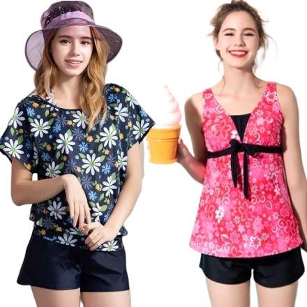 【南紡購物中心】夏之戀大女長版三件式泳衣